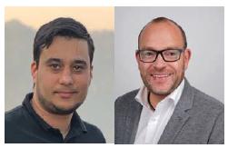 Two photos of Managing Directors at Krämer Marktforschung GmbH