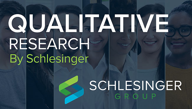 qualitative research by Schlesinger Group